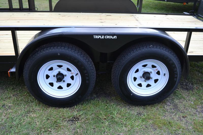 7x16 Red Hot   ATV Utility Trailer
