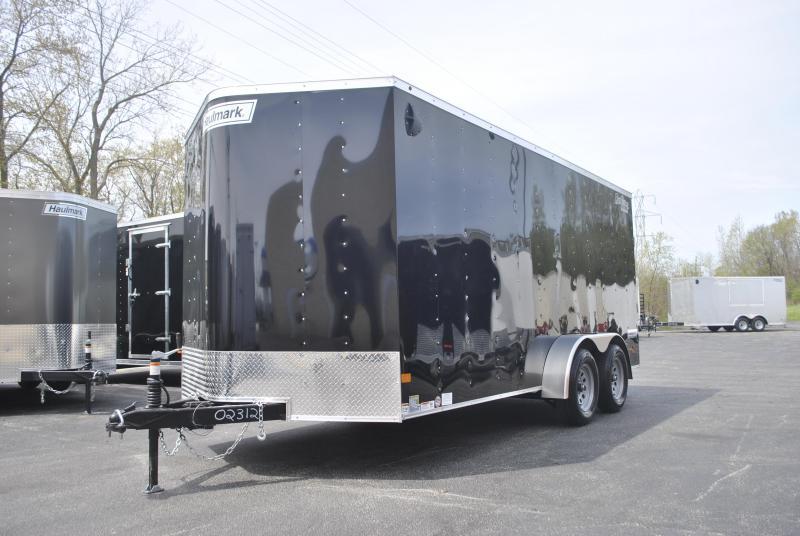 7X16 Haulmark Enclosed Cargo Trailer