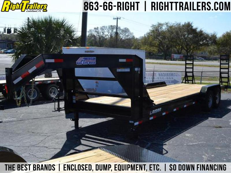 7x24 Lamar Trailers | Gooseneck Equipment Trailer