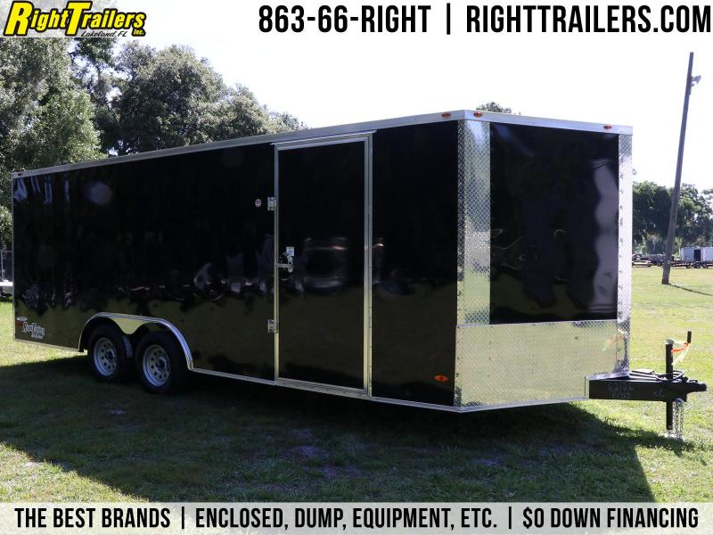 8.5x20 Red Hot | Enclosed Trailers