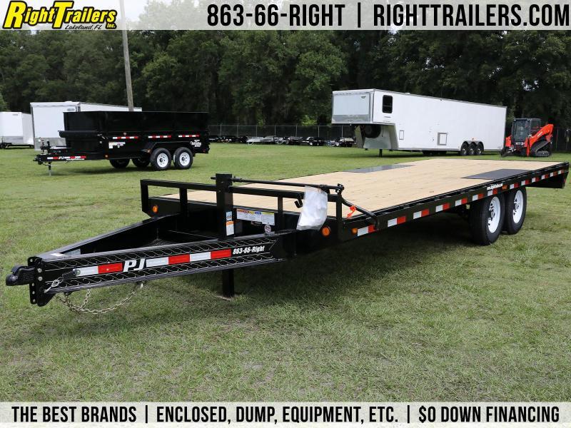 8x22 PJ Trailers   Equipment Trailer