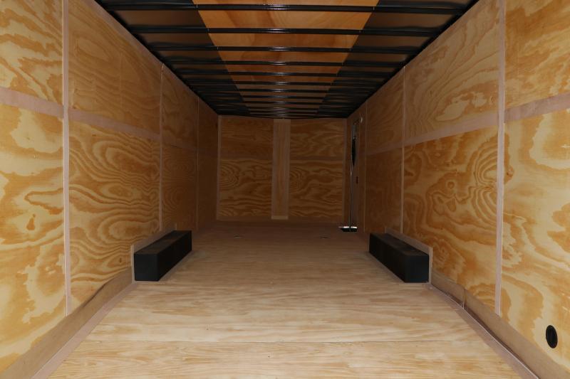 8.5x28 Continental Cargo   Enclosed Cargo Trailer