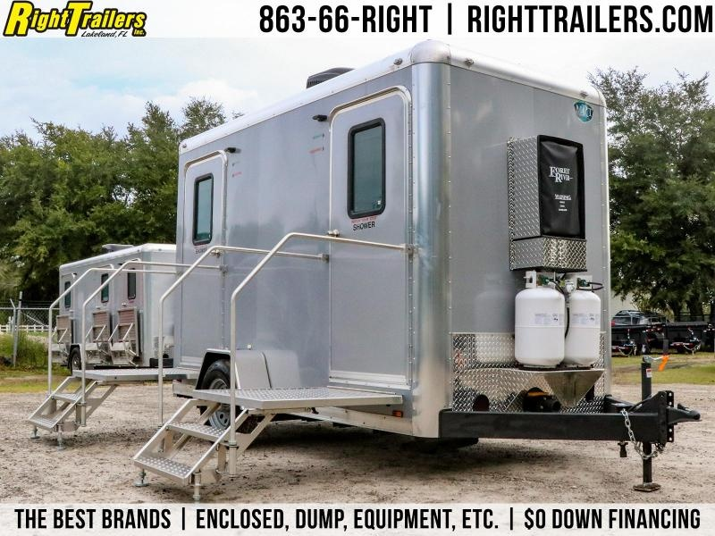 2- Station Restroom / Shower Trailer