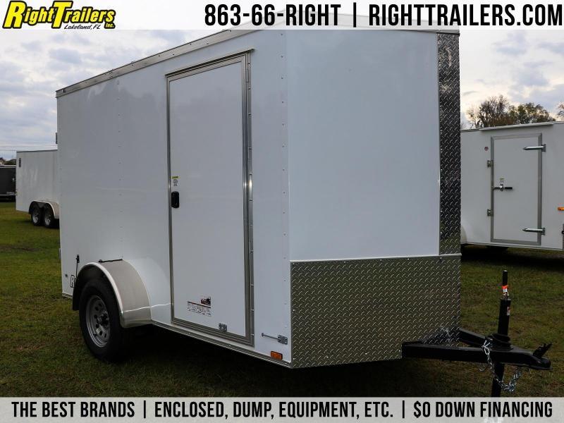 6x10 Anvil Enclosed Cargo Trailer