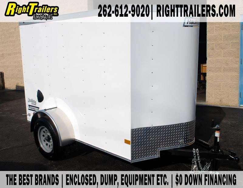 5X8 Haulmark Enclosed I Trailer