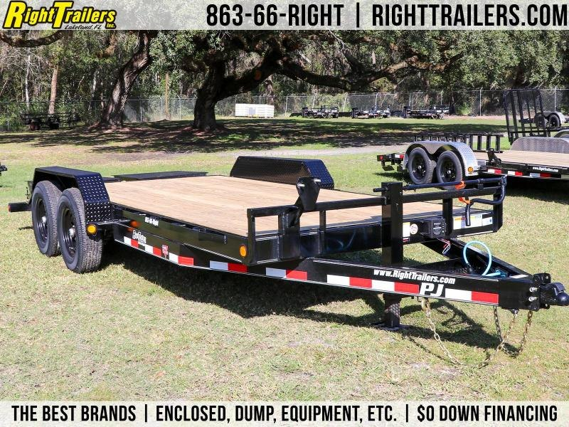 7x18 PJ Trailers | Equipment Trailer