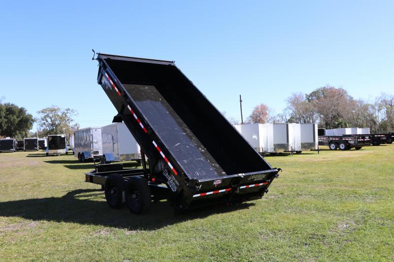 7x14 PJ Trailers I Low Pro Dump