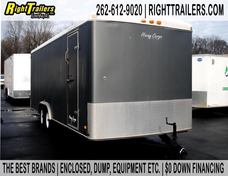 8.5x22 Hiway Cargo   Enclosed Trailer