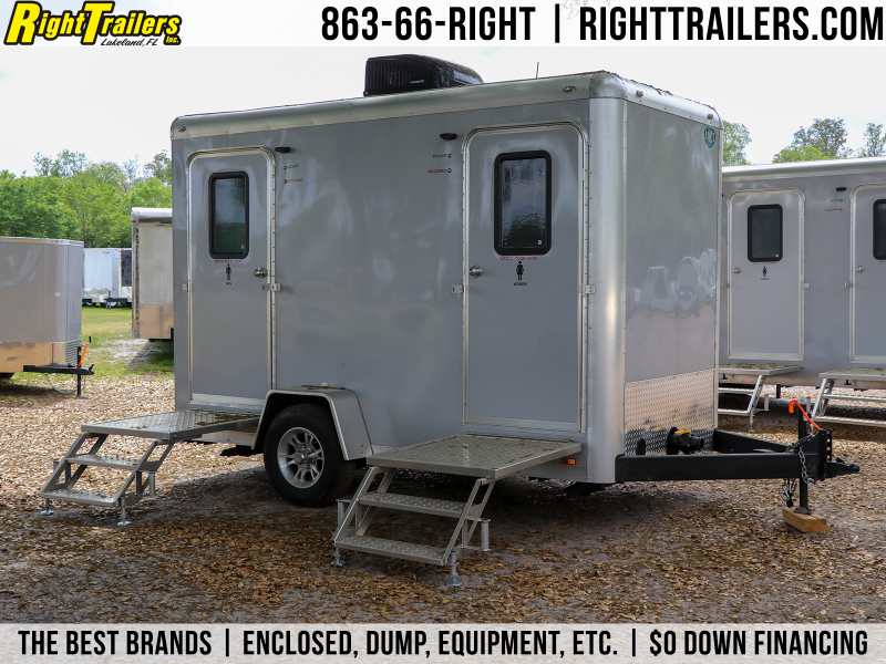 2 Station Restroom Trailer Rental