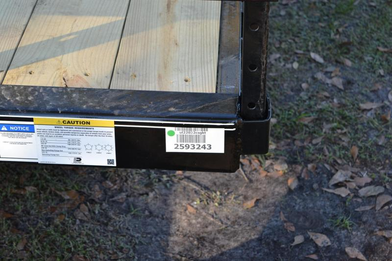 7x20 PJ Trailers   Utility Trailer