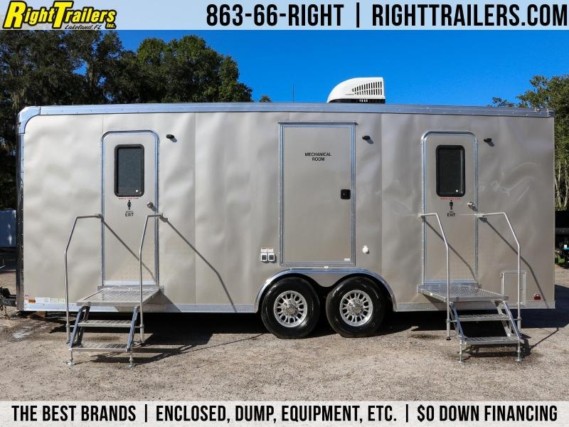 8.5x24 Forest River | Restroom / Shower Trailer