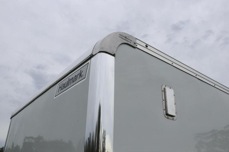 8.5x20 Haulmark | Grizzly Enclosed Racing Trailer