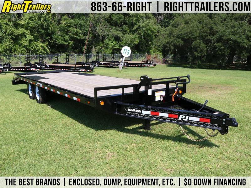 8x24 PJ Trailers   Equipment Trailer