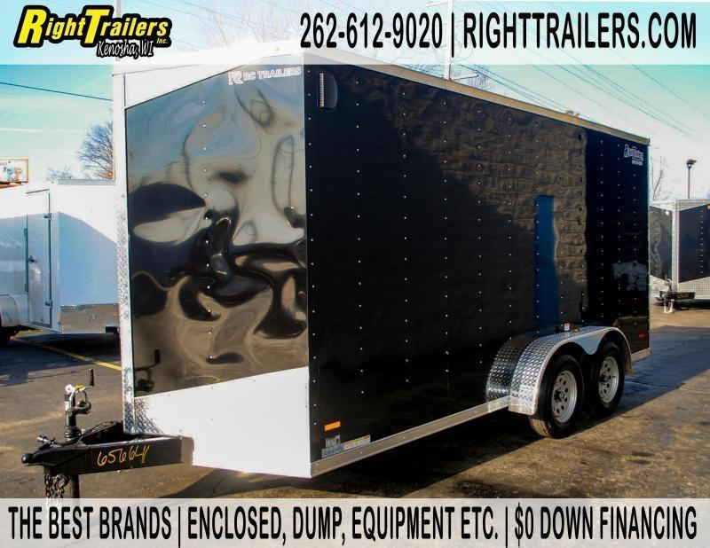 7x16 RC Trailers | Enclosed Trailer