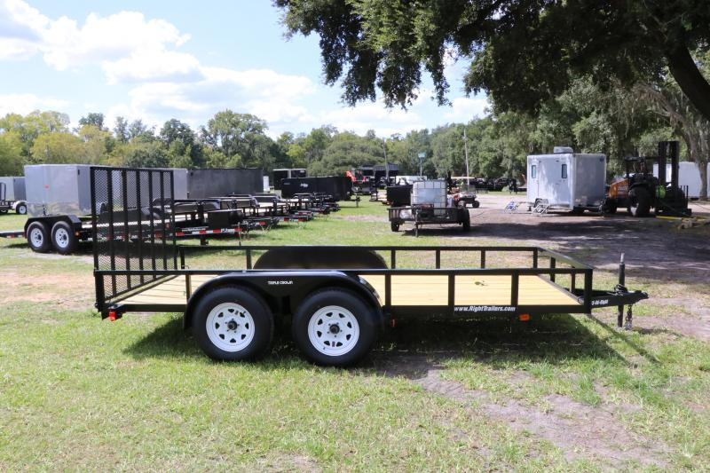 6x14 Red Hot Trailers | Utility Trailer