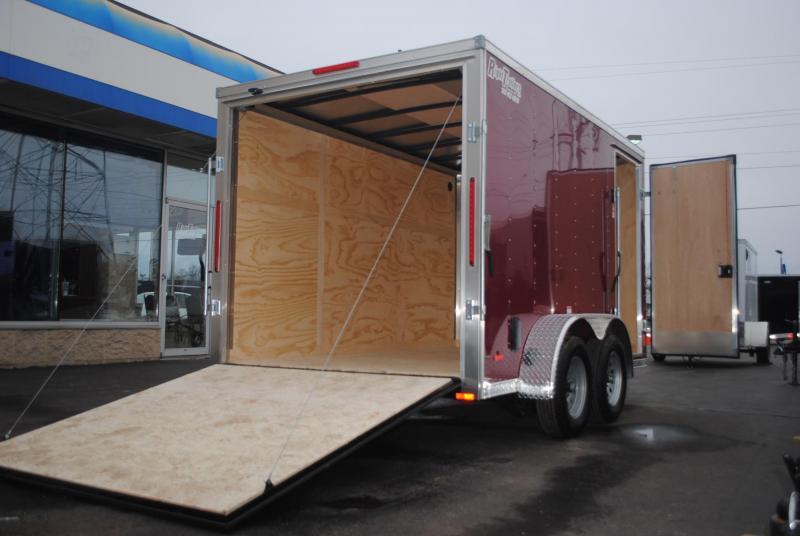 7X12 RC Trailers Enclosed Cargo Trailer