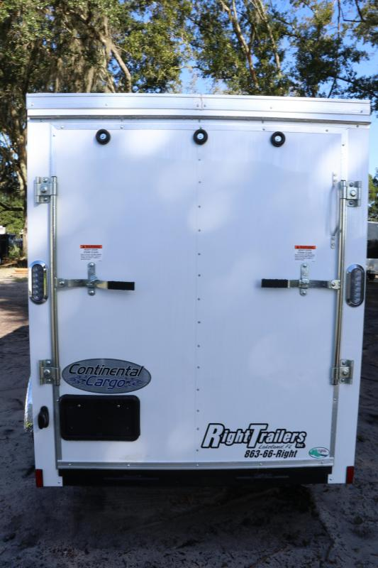 5x10 Continental Cargo | Enclosed Trailer