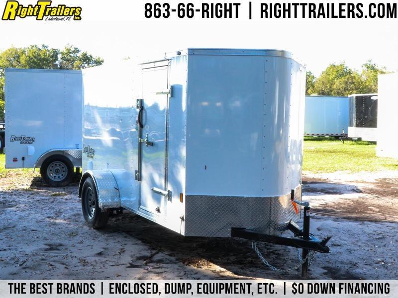 5x10 Continental Cargo   Enclosed Trailer