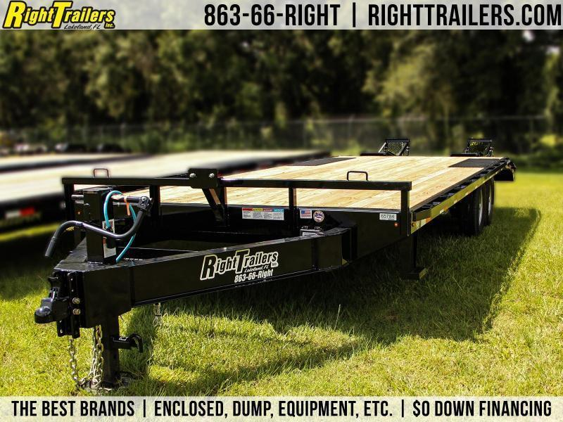 8.5x24 Lamar Trailers | Equipment Trailer
