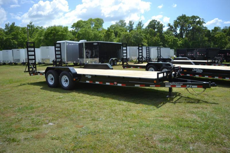 7x22 PJ Trailers   Equipment Trailer