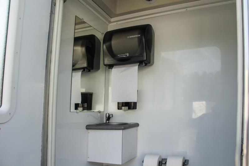 ADA 3 Station Restroom Trailer