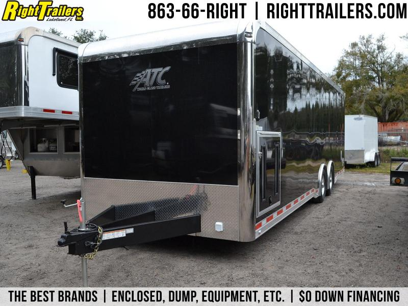 8.5x28 ATC Trailer | Enclosed Racing Trailer