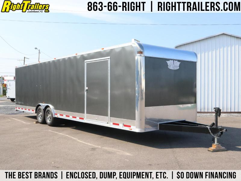 8.5x30 Vintage Trailers|  Car / Racing Trailer