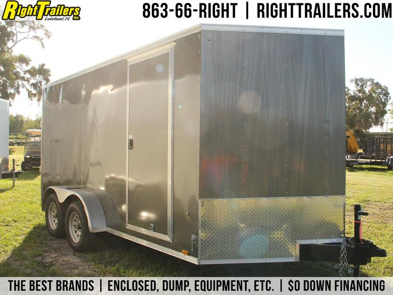 7x14 Pace American   Enclosed Trailer