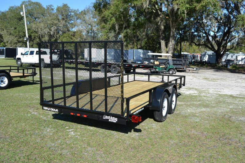 6X16 Red Hot Utility Trailer