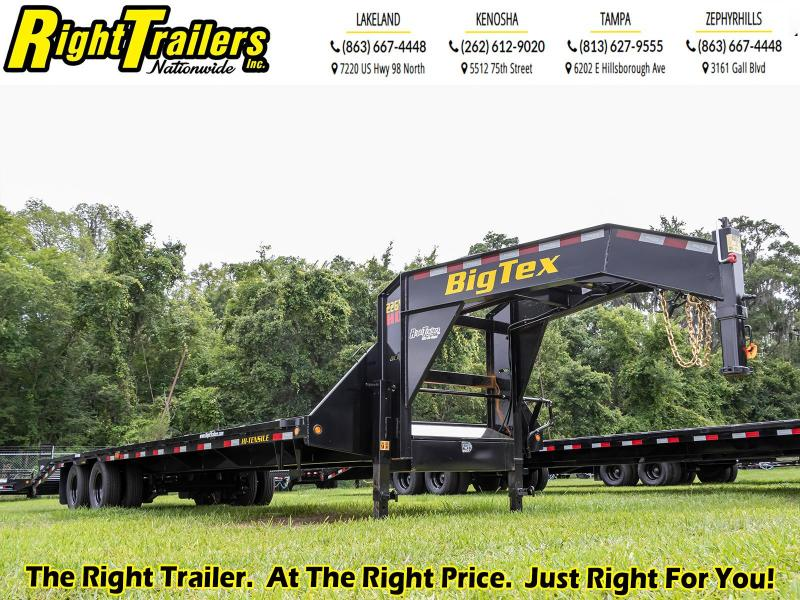 8.5X30 (25+5) Big Tex Trailers 22GN-40-HDTS Equipment Trailer