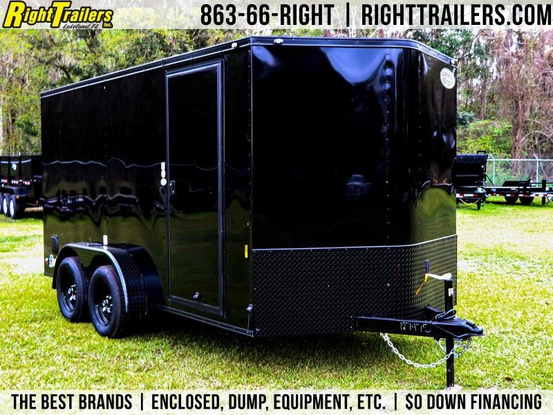7X14 Continental Cargo I Enclosed Trailer