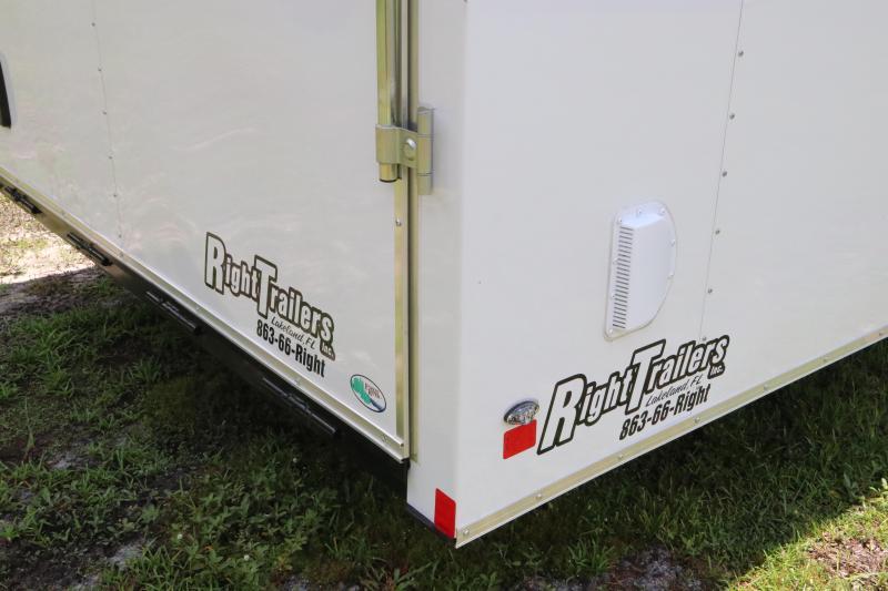 8.5x30  Continental Cargo | Enclosed Car Hauler | Racing Trailer