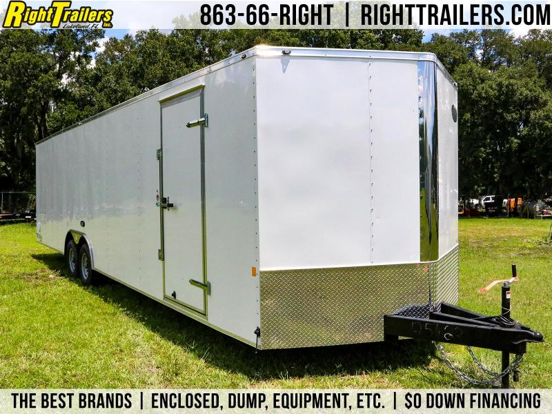 8.5x30  Continental Cargo | Enclosed Car Hauler | Racing Trailer