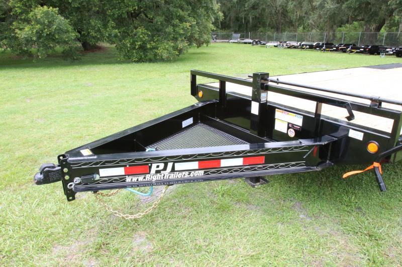 8x24 PJ Trailers | Deckover Equipment Trailer