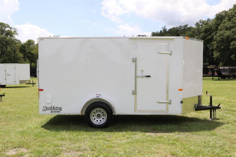 6x14 Red Hot Trailers    Enclosed Trailer