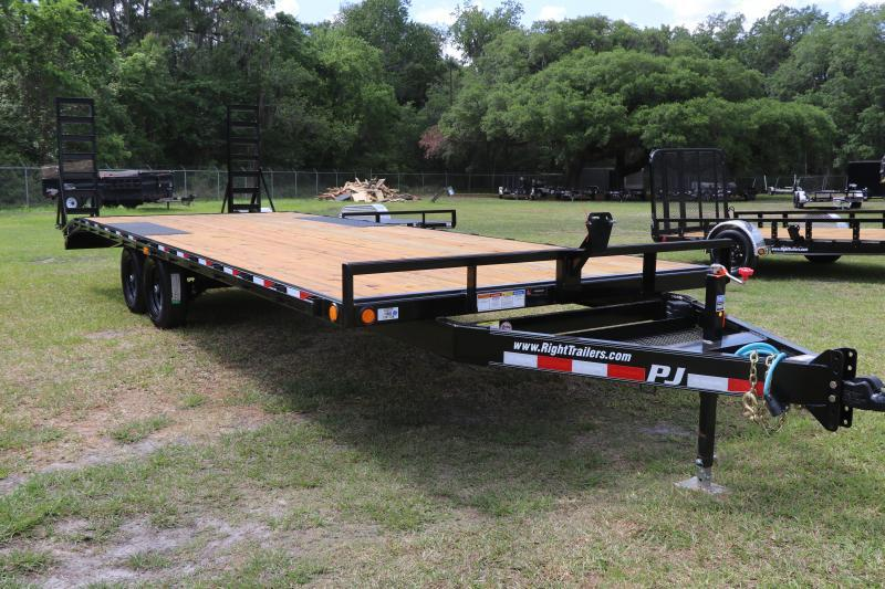 8.5X24 PJ Trailers Medium Duty I Flatbed Trailer