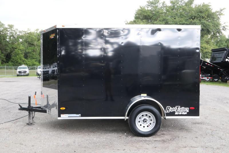 6x10 Red Hot Trailers | Enclosed Trailer