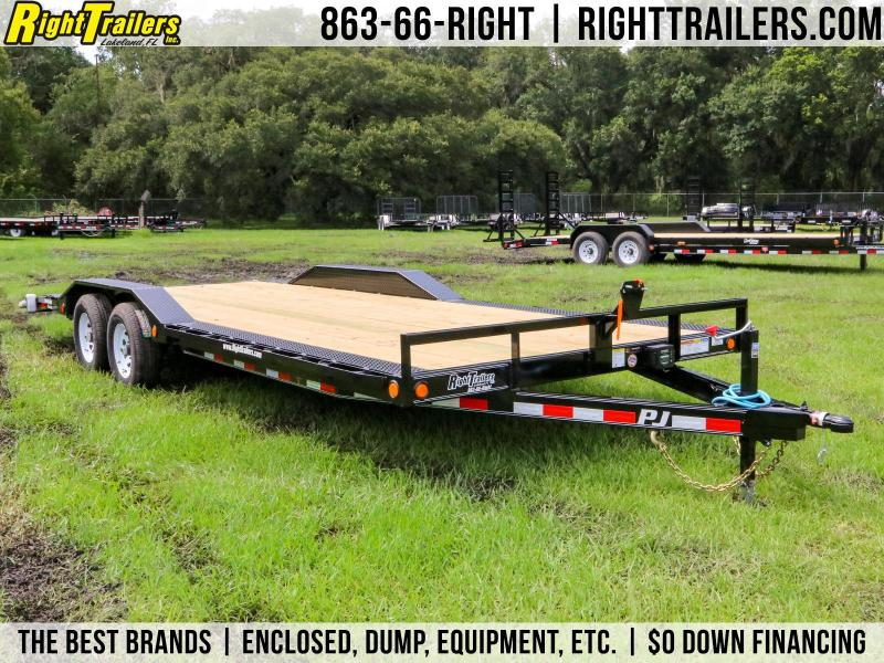 8.5x22 PJ Trailers | Car / Racing Trailer