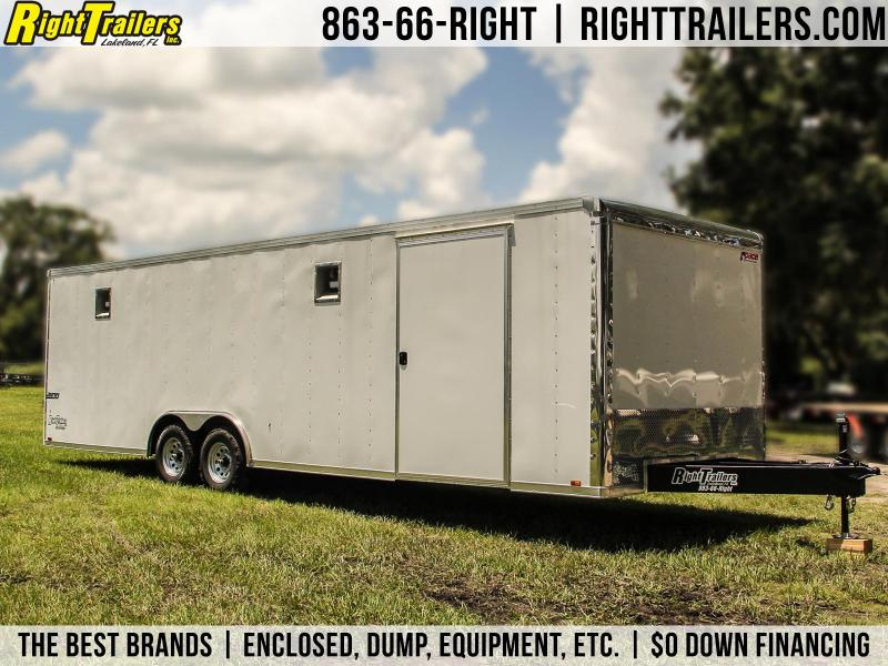 8.5x28 Pace American | Race Car Trailer