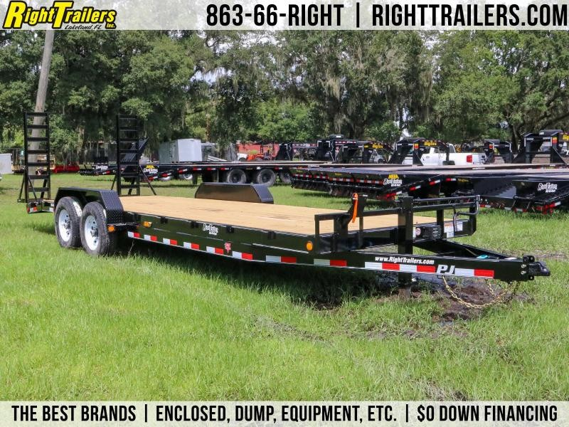 7x24PJ Trailers | Equipment Trailer