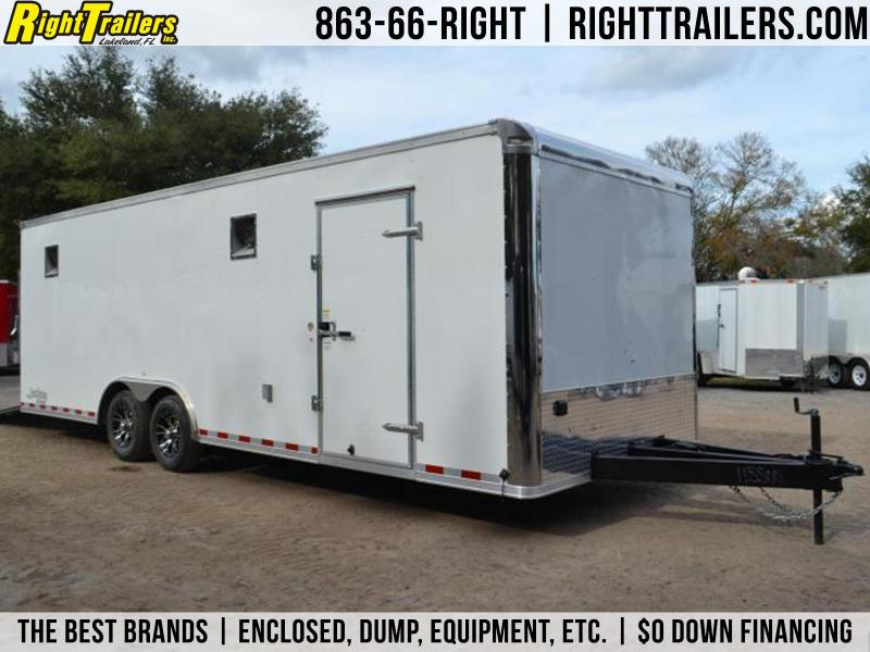 8.5x24 Continental Cargo | Race Car Trailer