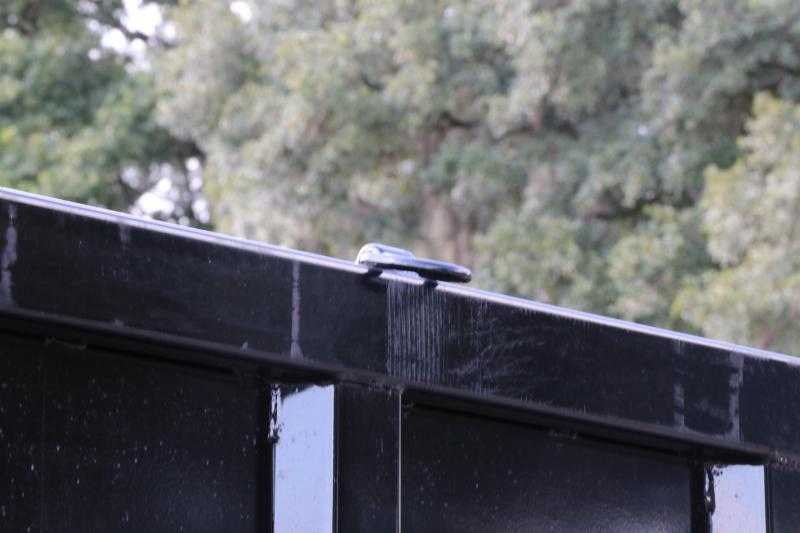 8x20x4 PJ Trailers | Gooseneck Dump Trailer