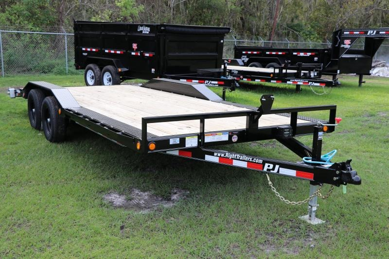8.5 X 20 PJ Trailers I Equipment Trailer