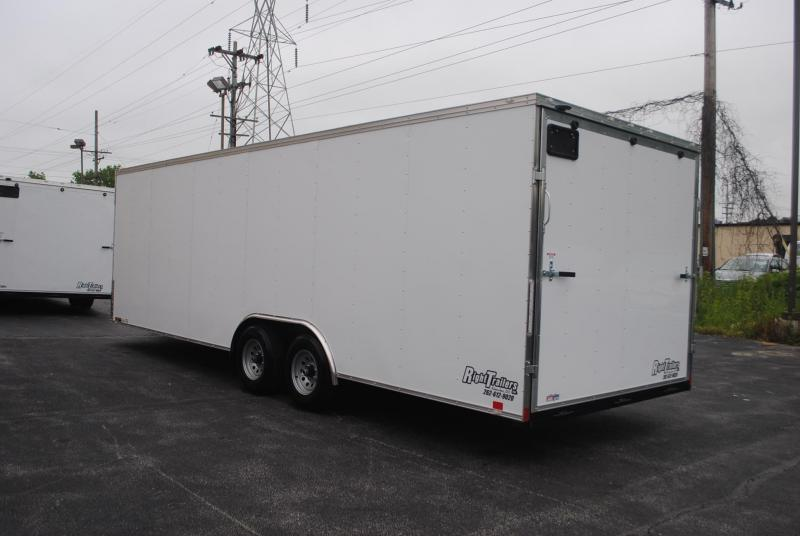 8.5x24x6.5 Team Spirit Custom Trailers | Enclosed Trailer