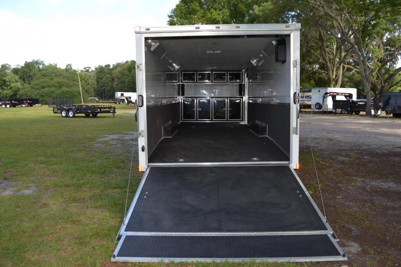 8.5x28 Continental Cargo   Enclosed Trailer