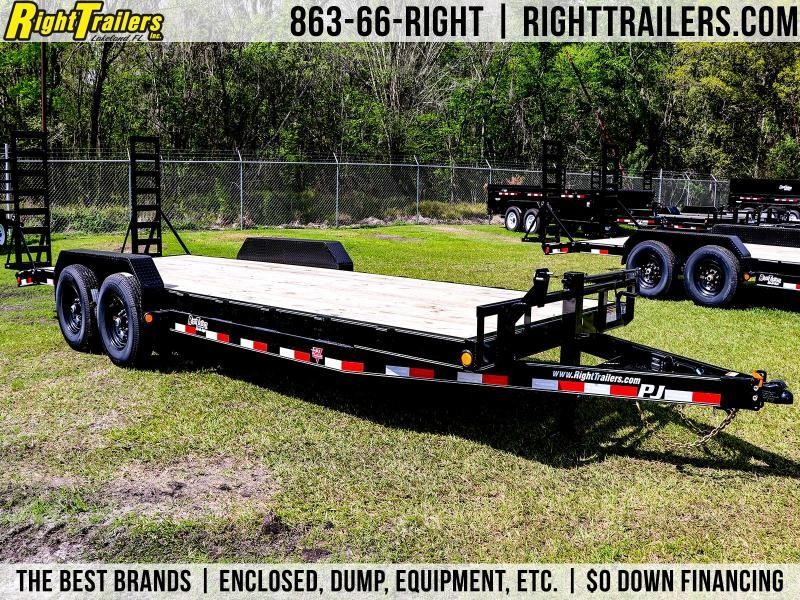 7X22 PJ Trailers I Car / Racing Trailer