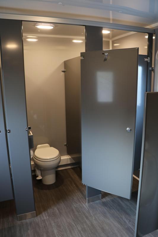 10 Station Restroom Trailer (Rental) | Restroom Trailer
