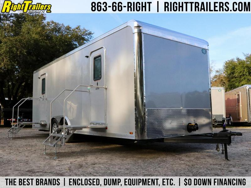 8.5x24 Forest River | Restroom Trailer