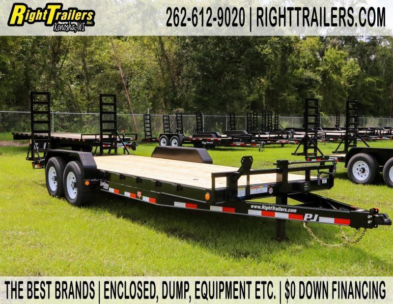 7x20 PJ Trailers | Equipment Trailer