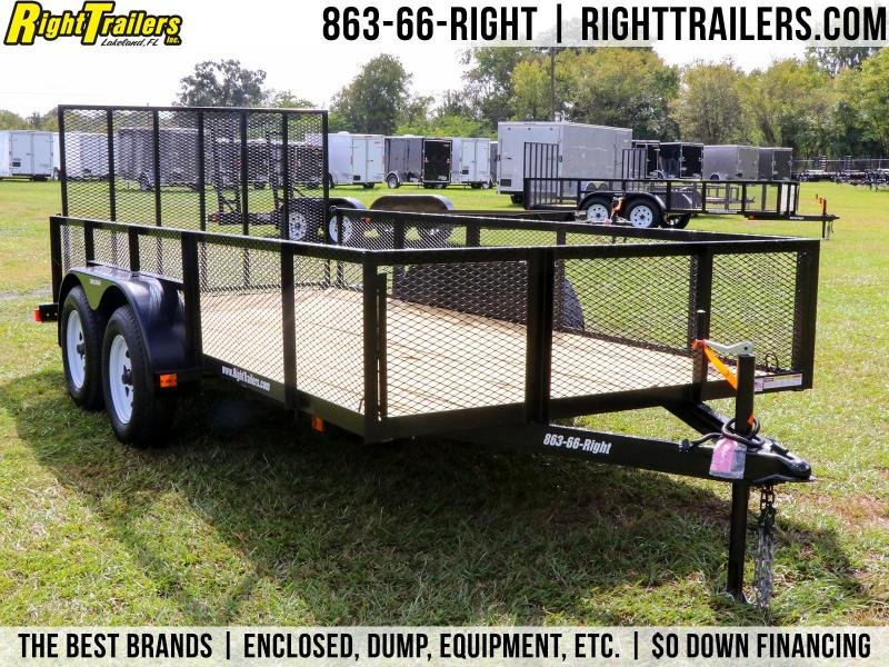 6 x 14 Red Hot Trailers | Utility Trailer